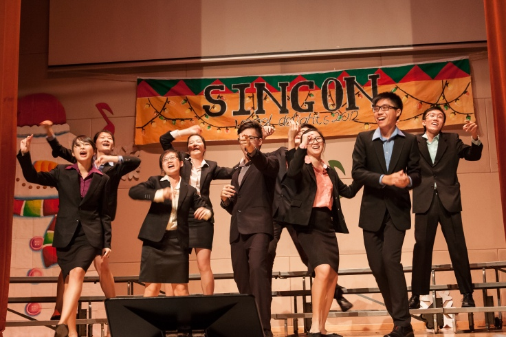 PUNCH performs at the choir's annual concert, Vocal Delights (2012)