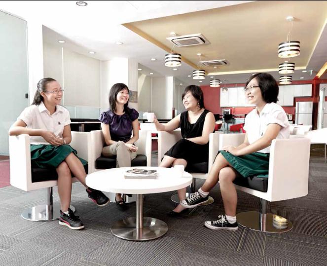 From left: Daniella Low, Wong Pei Chi, Teng Qian Xi and Gao Wenxin