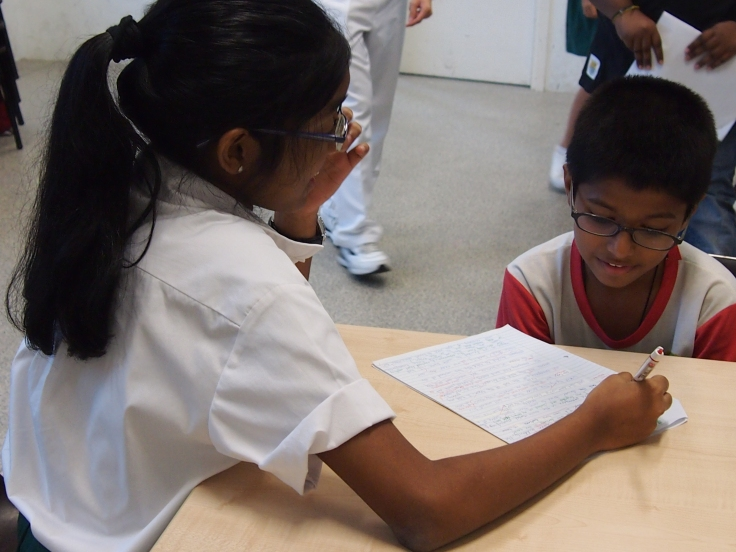 Raffles Interact collaborating with SINDA to tutor primary school students