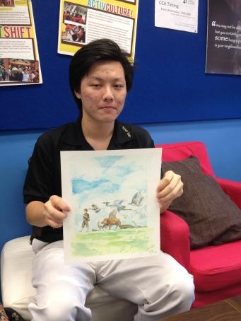 Illustrator Lim Zhi Jie