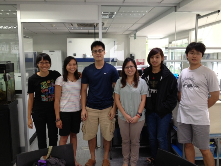 Dr. Abigayle Ng and students