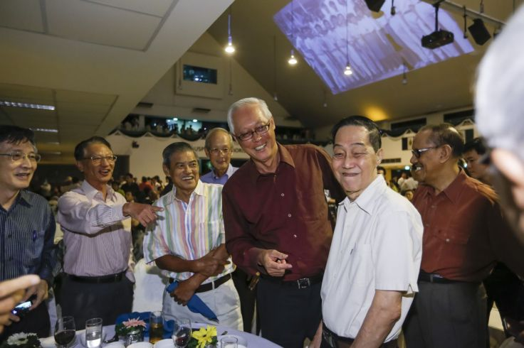 ESM Goh catches up with his old chums and cohortmates