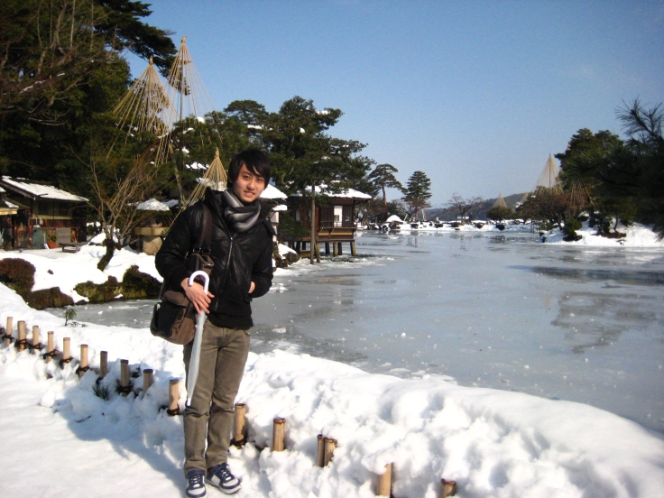 Kenroku Gardens in Ishikawa Prefecture