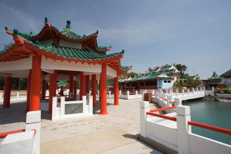 The Tua Pek Kong Temple is one of the key tourist attractions on Kusu Island: each year about 100,000 devotees visit the island