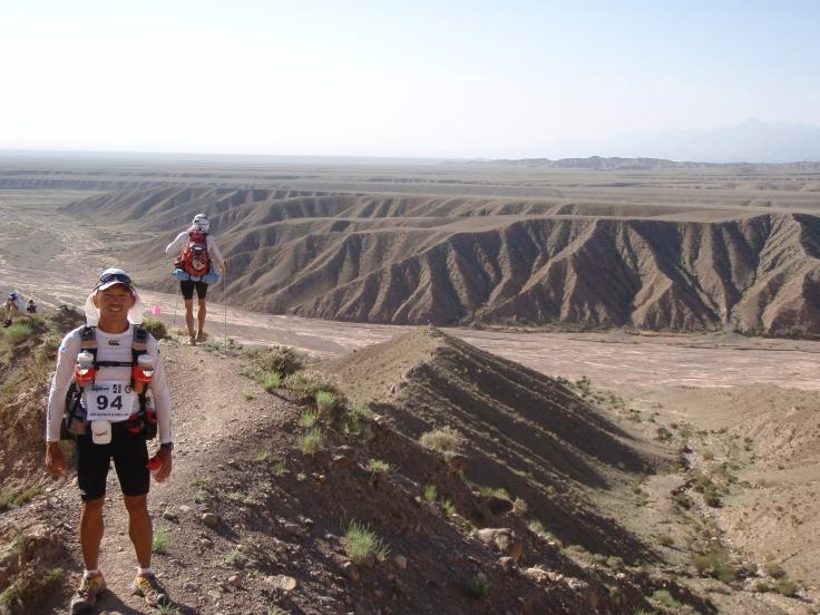 In the middle of the Gobi Desert