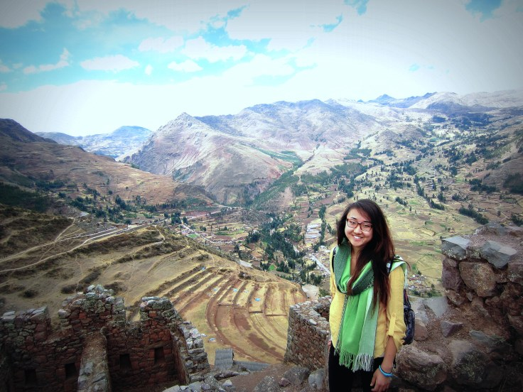 On a volunteer trip with MEDLIFE, a non-profit student organisation, to Cuzco, Peru in August 2012