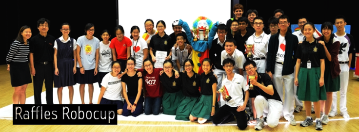 Club Automatica members who represented the school at the 2014 Robocup competition