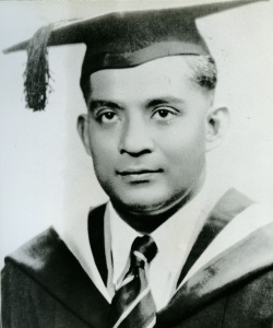Mr E W Jesudason, Principal of RI from 1963 to 1966
